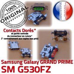Prise de PRIME Dock à souder Galaxy Fiche Qualité G530FZ MicroUSB SM-G530FZ SM USB Samsung Connector ORIGINAL charge Chargeur GRAND Dorés Pins Micro