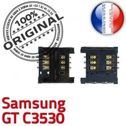 GT Reader Pins Contacts Prise Card souder Dorés Lecteur Connecteur S OR Samsung SIM ORIGINAL c3530 à SLOT Connector Carte