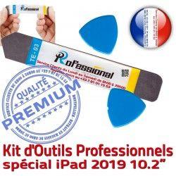 Réparation 10.2-inch 2019 KIT Remplacement iLAME iPad A2198 Outils Ecran Démontage Qualité iSesamo Compatible A2197 Vitre Tactile PRO