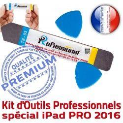 Outils Acier Qualité iSesamo iLAME Remplacement PRO iPad Tactile Démontage Compatible 9.7 Ecran inch Vitre 2016 Réparation KIT