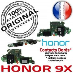 Téléphone Honor 9X Microphone USB Connecteur Huawei OFFICIELLE C Antenne GSM SMA Charge ORIGINAL Prise Qualité Nappe Chargeur