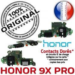 PRO Charge 9X Microphone Nappe Téléphone PORT Branchement Qualité Chargeur Antenne USB Honor ORIGINAL Prise Câble OFFICIELLE C