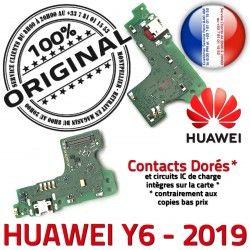 Chargeur PORT OFFICIELLE Nappe Micro USB Antenne JACK Huawei Microphone Qualité Branchement Charge ORIGINAL Téléphone Y6 2019