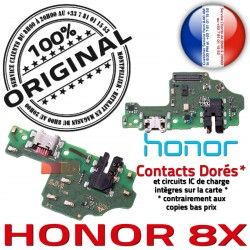 Câble OFFICIELLE Téléphone Chargeur PORT Micro ORIGINAL 8X Antenne Charge Microphone USB Nappe Honor Qualité Branchement JACK