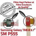 Samsung Galaxy TAB A SM-P555 C MicroUSB Connecteur Contact P555 Doré SM Chargeur Nappe de ORIGINAL OFFICIELLE Qualité Réparation Charge