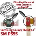 Samsung Galaxy TAB A SM-P555 HP ORIGINAL Parleur Charge P555 Bouton Réparation Nappe Haut Connecteur de OFFICIELLE Flex SM HOME Chargeur