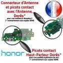 Honor 5X PORT Chargeur OFFICIELLE RESEAU Antenne ORIGINAL JACK Câble Nappe Téléphone Qualité Prise Charge USB Microphone Micro