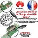 Huawei Y6-2 Prise Alimentation Antenne Microphone Micro ORIGINAL USB Câble Qualité Chargeur Charge PORT Nappe OFFICIELLE