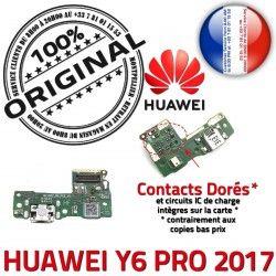 Nappe ORIGINAL Y6 USB Téléphone PRO PORT 2017 Microphone SMA Connecteur Micro Antenne Prise Huawei Qualité Charge GSM Chargeur
