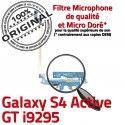 Samsung Galaxy S4 GT i9295 C Qualité Antenne Nappe MicroUSB ORIGINAL Active Charge OFFICIELLE Microphone Chargeur Prise Connecteur