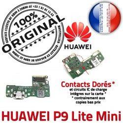 Micro Câble ORIGINAL USB Lite P9 Mini de Huawei PORT Microphone Chargeur JACK Prise Téléphone Nappe Charge Antenne Qualité