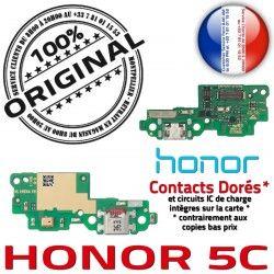 Haut-Parleur Microphone 5C PORT USB Charge Téléphone Câble ORIGINAL Antenne Micro Chargeur Qualité Nappe JACK Honor OFFICIELLE