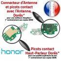 Honor 5C USB Micro Prise Antenne RESEAU Qualité JACK Microphone Câble OFFICIELLE Connecteur de Nappe Charge ORIGINAL Chargeur
