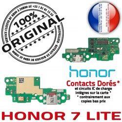 Téléphone Charge USB RESEAU LITE 7 Microphone ORIGINAL Honor Nappe Huawei Antenne Prise Connecteur Chargeur Qualité OFFICIELLE