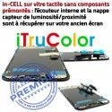 Apple in-CELL LCD iPhone A1984 iTrueColor LG Oléophobe PREMIUM HDR Verre Tactile inCELL Affichage Écran Multi-Touch True SmartPhone Tone