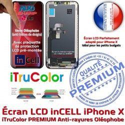 Vitre Super 3D Retina Écran X PREMIUM SmartPhone Cristaux LCD 5,8 Touch Liquides HDR iPhone Oléophobe Remplacement inCELL Qualité in In-CELL