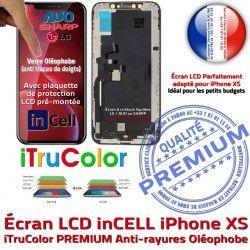 Super Affichage LCD Vitre Retina Tone Liquides Apple inCELL pouces True XS iPhone Écran SmartPhone Cristaux 5,8 PREMIUM
