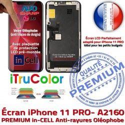 Verre inCELL 11 Multi-Touch Apple Remplacement A2160 LCD PREMIUM Touch in-CELL PRO Cristaux SmartPhone Assemblé sur Liquides Écran iPhone Châssis