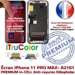 iPhone A2161 LCD True Vitre Apple Tone Qualité 6,5 Tactile in SmartPhone Réparation PREMIUM Super inCELL Verre Affichage Écran Retina