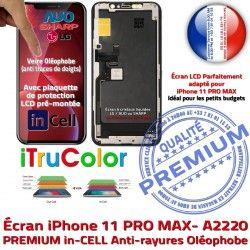 6,5 PREMIUM Vitre HDR in LCD iPhone Liquides Super Apple Tactile Retina Cristaux Écran Remplacement In-CELL Oléophobe A2220 Touch