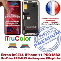 pouces Retina Écran Liquides PREMIUM SmartPhone Cristaux Super inCELL LCD Tone iPhone PRO Vitre 6,5 MAX True Affichage Apple 11