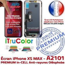 Touch SmartPhone iTrueColor Super Retina 6,5 iPhone Cristaux HD Liquides PREMIUM Réparation 3D Écran LCD inch inCELL A2101 Apple