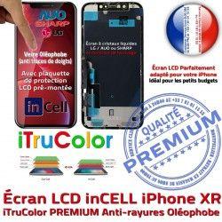 Apple pouces Liquides HD Tactile PREMIUM XR SmartPhone iPhone Super 6,1 inCELL Affichage Retina True Cristaux 3D Vitre Tone