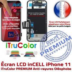 inCELL True Vitre 11 Tone LCD sur 6,1 Cristaux PREMIUM Châssis Affichage Apple iPhone SmartPhone pouces Liquides Retina Écran