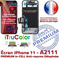 inCELL Écran A2111 Multi-Touch 3D LCD PREMIUM Remplacement HDR iPhone Touch Liquides Apple in-CELL Oléophobe Verre SmartPhone Cristaux