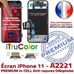 Oléophobe 3D Touch Écran Remplacement Apple SmartPhone iPhone LCD A2221 inCELL PREMIUM in HDR Ecran Vitre Cristaux Retina Super Liquides 6,1 InCELL
