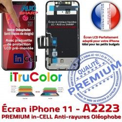 11 6,1 Tone in Apple PREMIUM Cristaux SmartPhone Tactile Vitre Liquides Affichage True A2223 iPhone Super Retina Écran inCELL