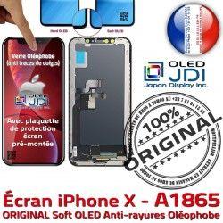 OLED True Réparation A1865 Tactile Super iPhone 5,8 Verre SmartPhone Affichage ORIGINAL Écran HD Tone Qualité Châssis soft Retina X sur