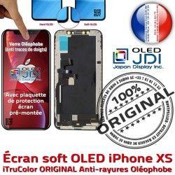 True Apple iPhone ORIGINAL Affichage Tone 5,8 OLED HD Écran Vitre Super 3D Qualité XS Tactile SmartPhone pouces soft Retina