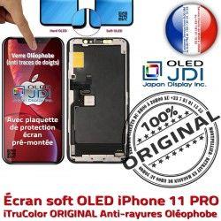 Verre Châssis 3D Multi-Touch Touch soft Remplacement KIT OLED ORIGINAL iPhone 11 Oléophob SmartPhone PRO Chassis sur Apple Écran Complet