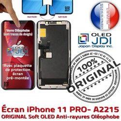 OLED Apple 5.8 LG PRO Retina Tone pouces Oléop Écran SmartPhone 11 Vitre Super iPhone Affichage True ORIGINAL soft Verre A2215 Changer
