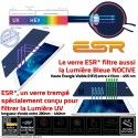 Film Protecteur Apple iPad A2604 Trempé Incassable Bleue Verre Ecran Lumière Filtre Vitre 2021 Protection Anti-Rayures ESR Chocs