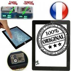 A1395 Home Qualité Verre Frontale Multi Touch Apple iPad2 Adhésif 2 Caméra ORIGINAL Ultraviolet A1397 Tactile Fixation ON Vitre A1396 Oléophobe Monté Noir iPad