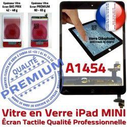 Vitre A1454 Mini1 Tablette Oléophobe Nappe Noir Bouton Fixation Monté iPad Tactile Adhésif Réparation Filtre Ecran Caméra Home Verre