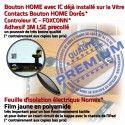iPad Mini2 A1489 A1490 A1491 N Réparation Tactile Caméra Home Noir 2 Ecran Vitre Tablette Fixation Filtre MINI Monté Nappe Adhésif Bouton Verre Oléophobe