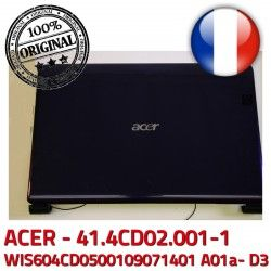 41.4CD02.XXX Coque Acer D3 7535 Mitsubishi Cover MS2262 Rear ASPIRE 7535G A01a- ACER WIS604CD0500109071401 Case WIS: 41.4CD02.001-1 7235