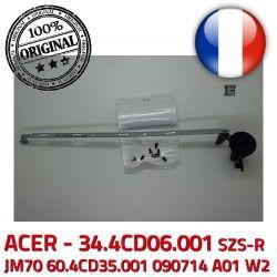 JM70 écran Acer Charnière Fixations Montant Portable ACER ORIGINAL 090714 Droite PC A01 60.4CD35.001 Right LCD ASPIRE Hinge Laptop W2