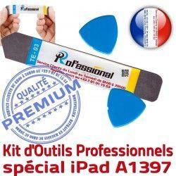 Qualité Remplacement iLAME Professionnelle KIT Réparation Compatible PRO Tactile A1397 Vitre Ecran iPad Démontage iSesamo Outils