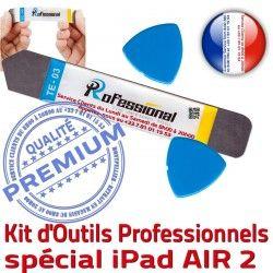Compatible 2 A1567 Vitre Ecran iPad AIR Démontage KIT A1566 PRO Réparation Qualité iPadAIR iLAME Tactile Outils Professionnelle iSesamo Remplacement