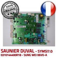 S0080 Saunier 0020036711 Duval 10024 3 d-allumage IND V Carte Thema 6973 electronique C24 0310144400R18 SYMSI7.0 E 08/48 KWD