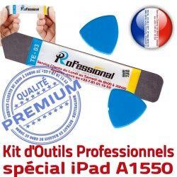 Vitre iPadMini Professionnelle PRO Remplacement Ecran Qualité iSesamo Outils Tactile KIT 4 Réparation Compatible iLAME Démontage iPad A1550