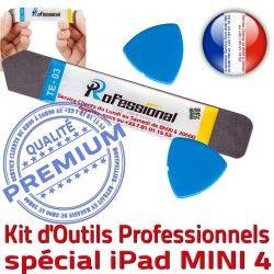 Mini4 iPadMini Ecran Qualité Tactile PRO Vitre iPad Compatible Professionnelle A1550 iLAME Réparation iSesamo Outils Démontage KIT 4 Remplacement A1538