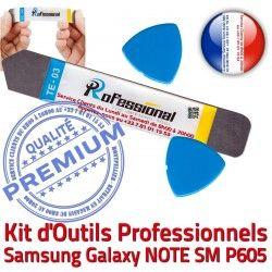 Vitre Démontage Ecran KIT Samsung iLAME Qualité Professionnelle iSesamo Galaxy Tactile P605 SM Outils Compatible Remplacement Réparation NOTE