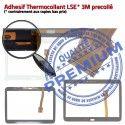 Samsung Galaxy SM-T535 Tab4 B Tactile Adhésif Blanche Verre Prémonté en Assemblée PREMIUM Supérieure Vitre 10.1 Qualité Ecran TAB4 LCD