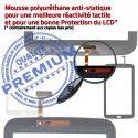 Samsung Galaxy TAB 3 SM-T210 B SM Ecran T210 Blanche Verre Vitre Qualité Supérieure en Prémonté PREMIUM Assemblée TAB3 Tactile 7 Adhésif LCD
