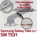 SM-T531 Micro USB TAB4 Charge Galaxy MicroUSB Connecteur Samsung T531 SM Réparation Nappe OFFICIELLE Chargeur 4 ORIGINAL Dorés Contacts TAB Qualité de